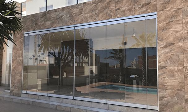 empresa de cortinas de cristal